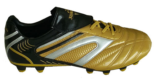 Football Shoes (Golden Black)
