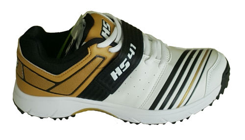HS 41 Cricket Shoes Golden