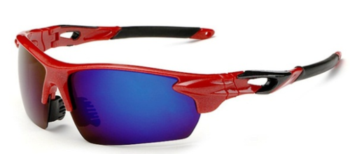 Cricket Sunglasses UV Protected (Blue Red)