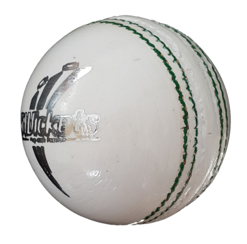 Premium Alum White Match Cricket Ball (6 Pack)